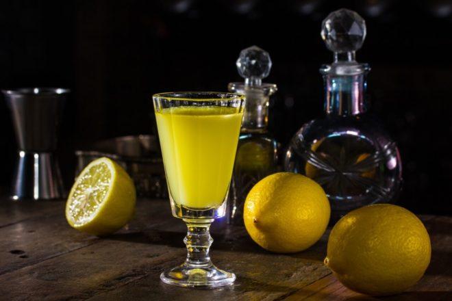 Вкусная лимонная водка