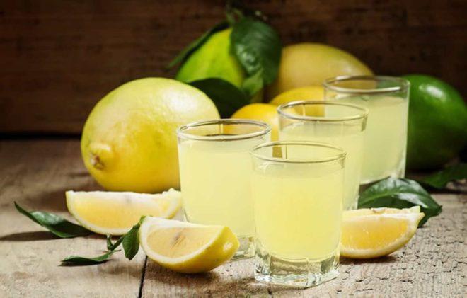 Польза лимонной водки