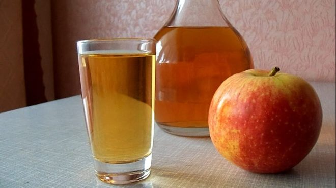 Домашняя настойка на яблоках