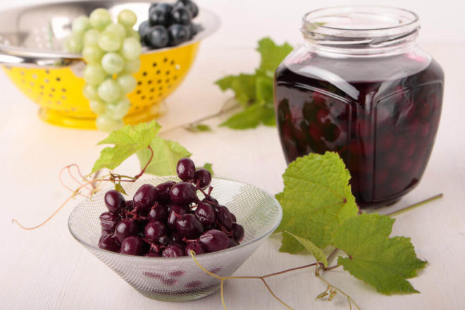 Настойка на винограде