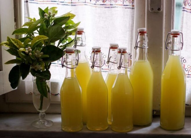 Рецепт Лимончелло в домашних условиях