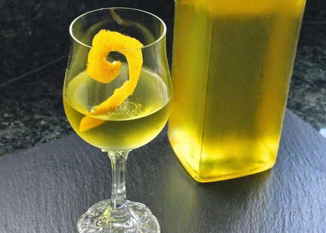 Лимонная настойка на самогоне