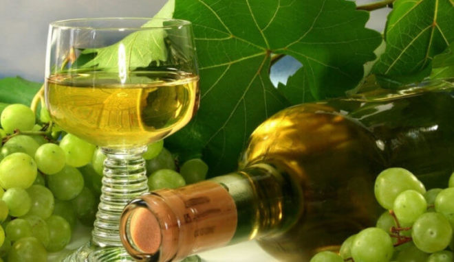 Настойка на белом винограде