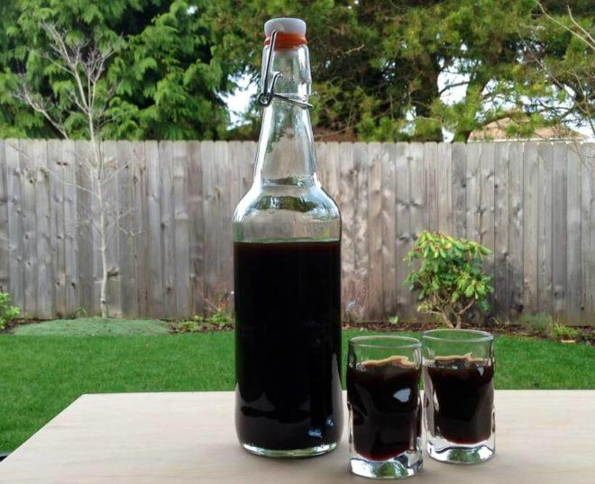 Быстрый рецепт самогона на черносливе
