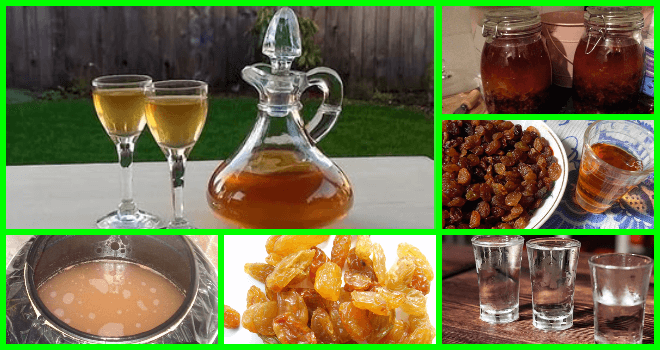 Вкусный рецепт настойки на изюме