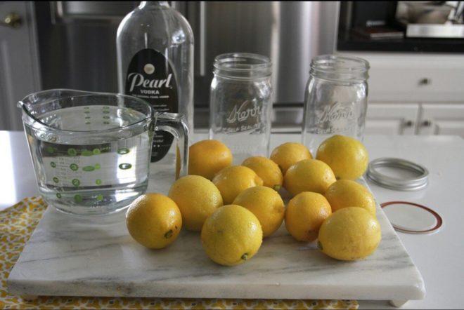 Рецепт настойки на лимоне