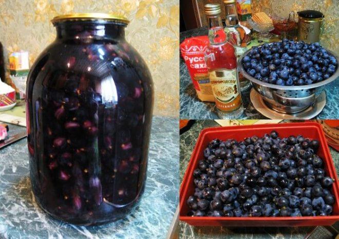 Настойка на красном винограде