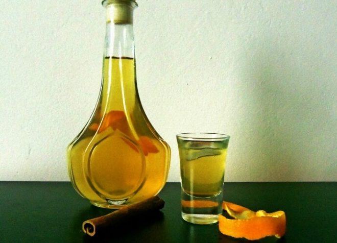 Настойка самогона на сухих мандариновых корках