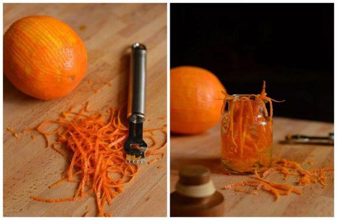 Вкусный рецепт настойки на апельсиновых корках
