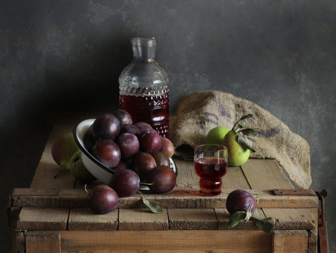 Рецепт сливового самогона