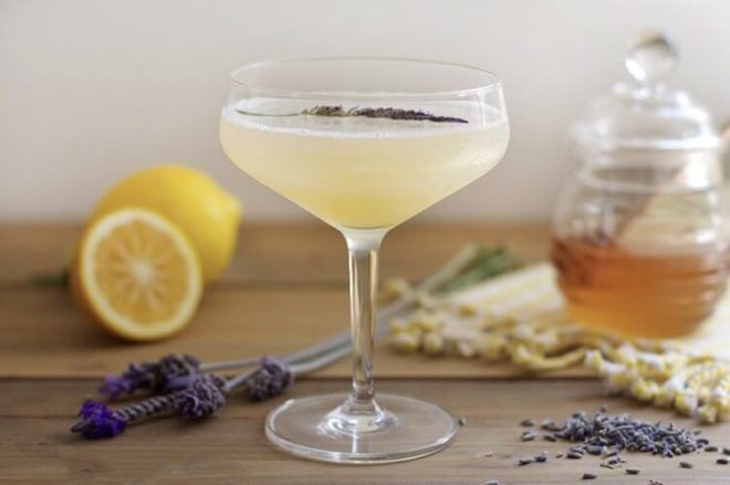 Настойка на лимоне с медом