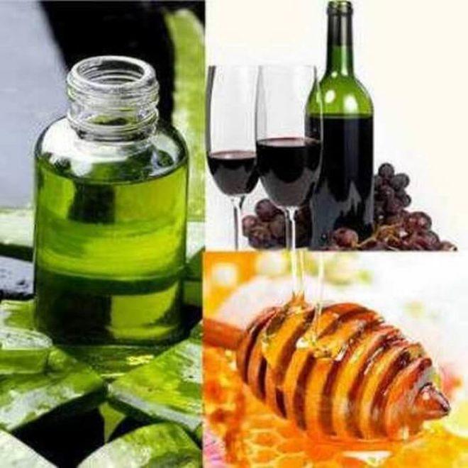 алоэ, мед и вино