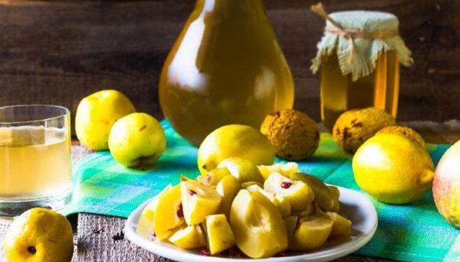 Настойка из айвы и лимона