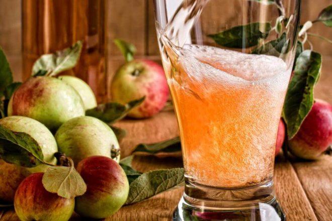 медовуха с яблоками