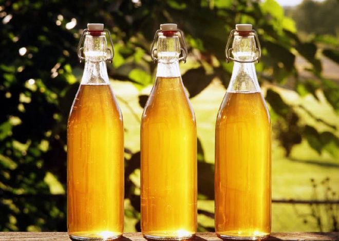 бутыли с медовухой